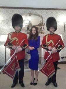 Kate Middleton Lookalike - Royal Guard