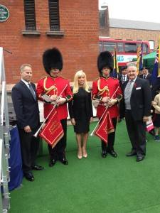Bexleyheath Clocktower opening trumpeters