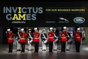 Paris Motor Show 2014 London Fanfare Trumpets