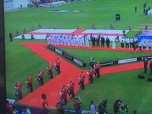 Ashes cricket trumpeters opening2