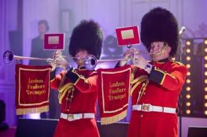 British look trumpeters state