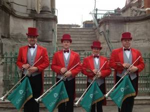 Fanfare Trumpeters Grosvenor House Hotel London